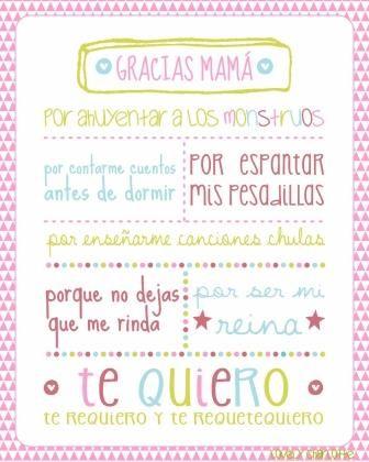 Felicitación del día de la madre