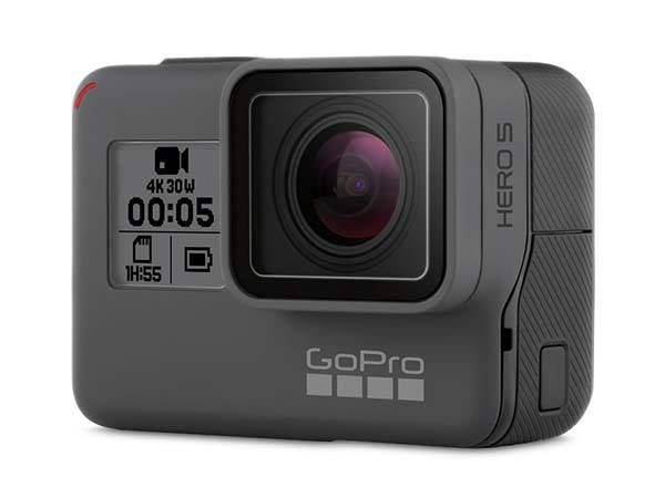GoPro HERO5 Waterproof Action Camera with 2-Inch Touchscreen, Voice Control and Advanced Video Stabilization