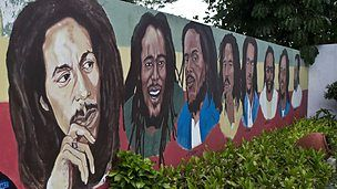 streetart art Jamaica, West Indies