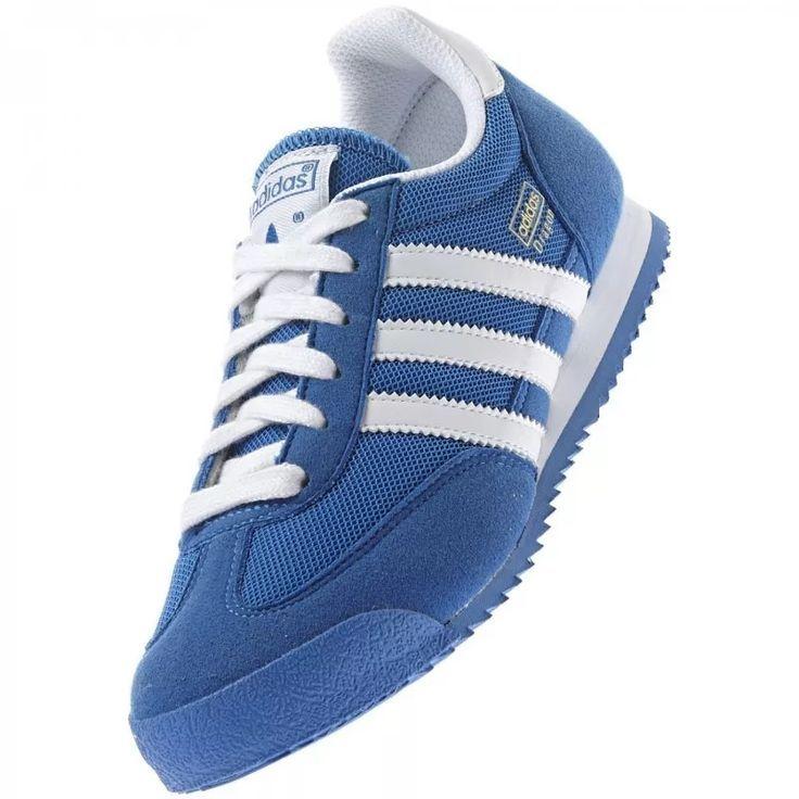 Tenis Adidas Dragon J Color Azul Adidas Azul Color Dragon Tenis Adidas Shoes Originals Adidas Outfit Shoes Adidas Dragon