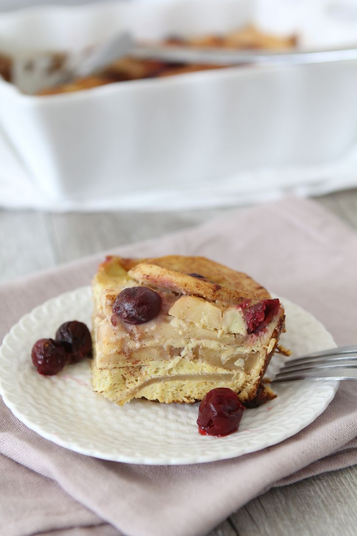 Apple + Cherry Frittata - gluten free - paleo - the Whole Smiths