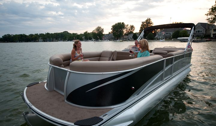 205 best pontoon boats images on pinterest for Fishing boat manufacturers