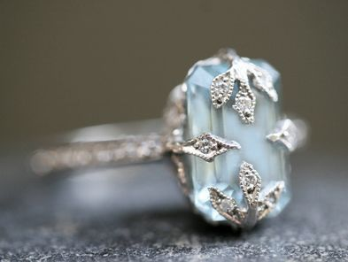 Cathy Waterman stunning ring....pinning again because I can't get enough of it....I WILL OWN THIS