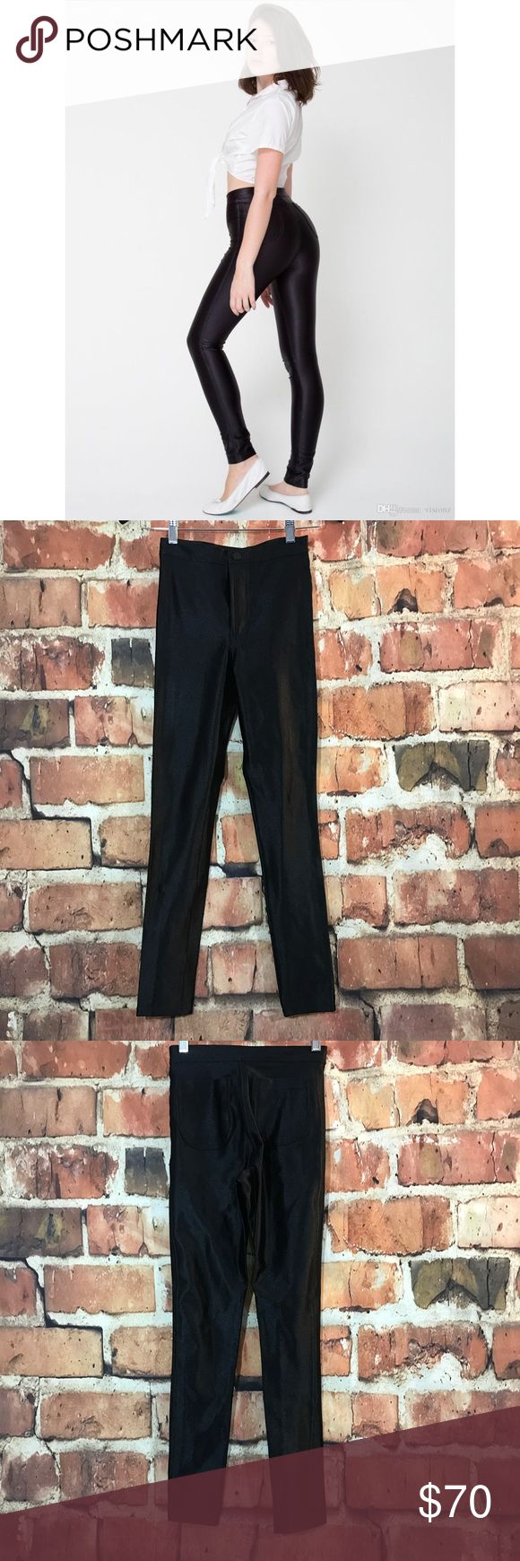 66 Off American Apparel Pants Sale American Apparel Black Disco - American apparel black disco pants xs