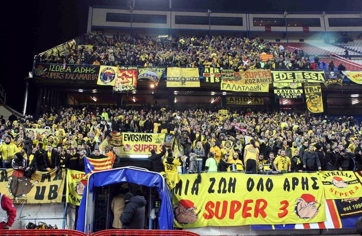 Atl. Madrid - Aris: 2 - 3