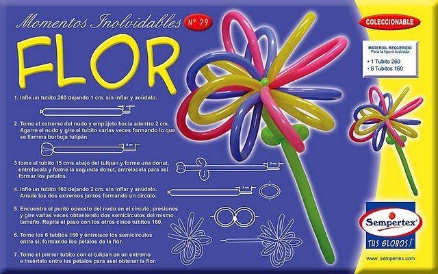 PASO A PASO CON JEANNINE: decoracion de globos en Flor