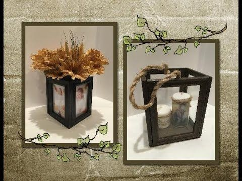 DIY Terrarium made from Dollar Tree frames. ., My Crafts and DIY Projects