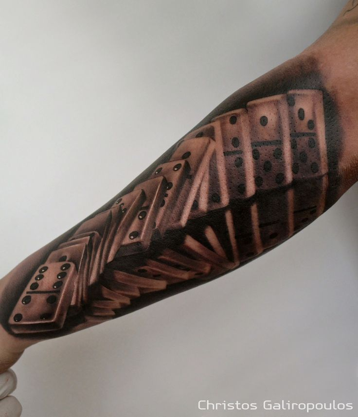 domino tattoo designs pictures to pin on pinterest thepinsta. Black Bedroom Furniture Sets. Home Design Ideas