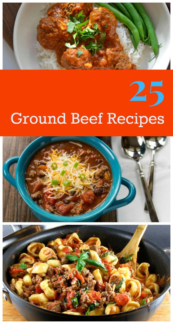 25 Easy Ground Beef Recipes