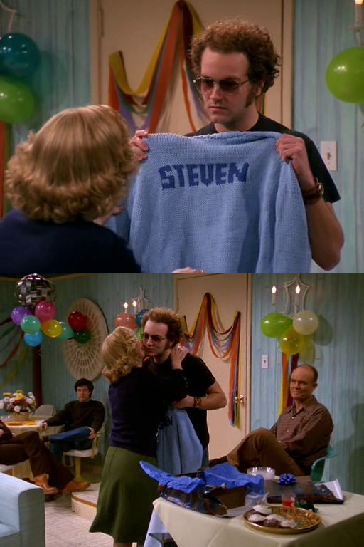 She knows there's nothing better than a homemade gift. | 28 Reasons You Wish Kitty Forman Was Your Mom