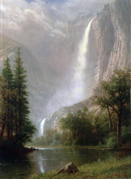 Worcester Art Museum - Albert Bierstadt: Yosemite Falls