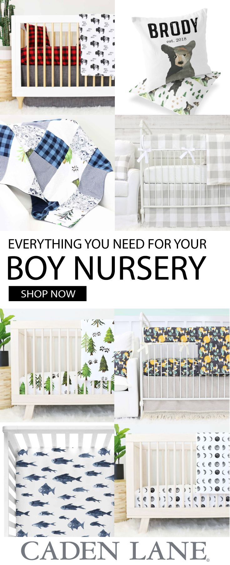 The Cutest Baby Boy Bedding And Nursery Accessories Get Look You Want
