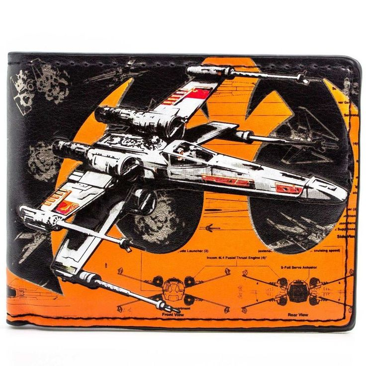 awesome Wallet Star Wars X-Wing Vehicle Zeta-class Imperial Shuttle  -