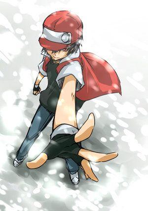 Pokemon Red | Trainer Red | Red | Is so Hotttt