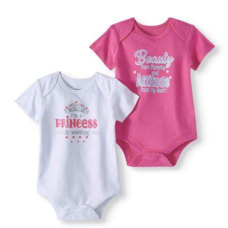 89e8f01c3 Attitude Baby Girl Short Sleeve Bodysuits