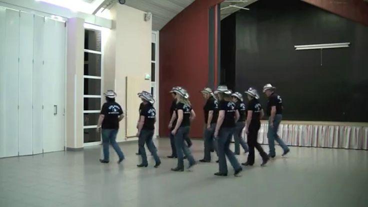 HEY GIRL - NEW SPIRIT OF COUNTRY DANCE - line dance