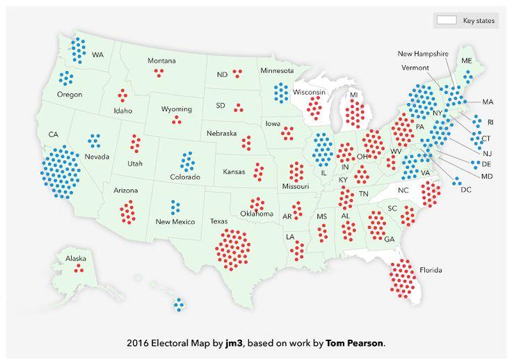 The 2016 Election Map – Medium