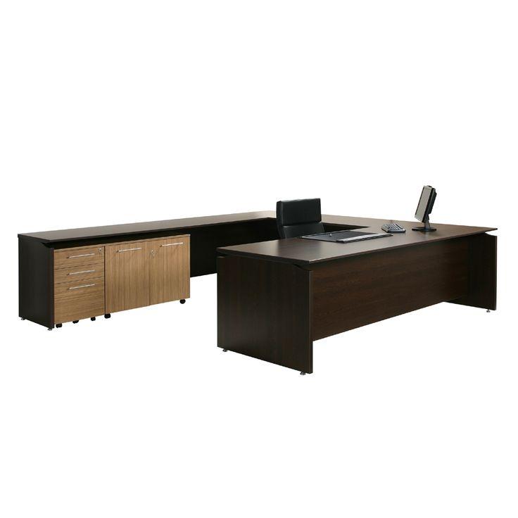 V2 Executive Office Desk 2400mm