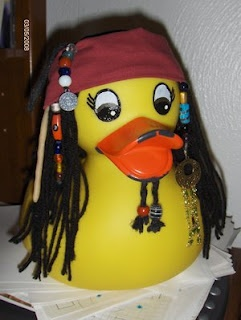 Captain Duck Sparrow!