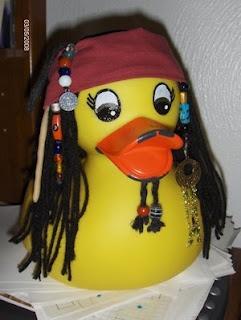 Captain Duck Sparrow!