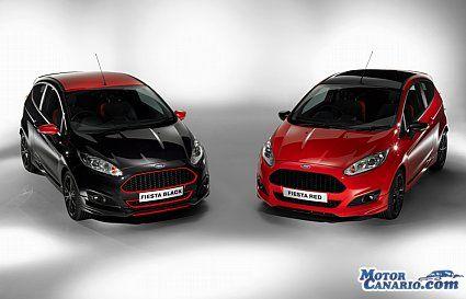 Ya en los concesionarios los nuevos Ford Fiesta Red Edition y Black Edition.