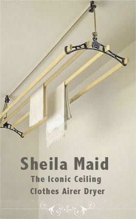 Nutscene® is the Official Home of the Sheila Maid® clothes airer.SPECIAL OFFER - FREE DELIVERY ON UK MAINLAND ORDERS OVER £80.00