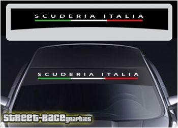 Alfa Romeo Scuderia Italia windscreen sunstrip