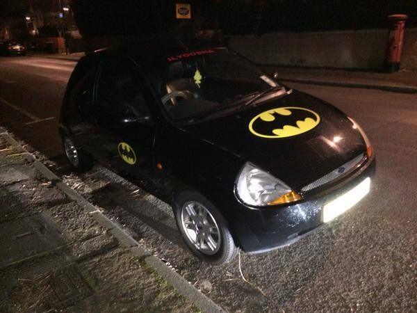 The recession has been hard for all of us, but none have felt the pinch quite like Batman #batmobile #cars