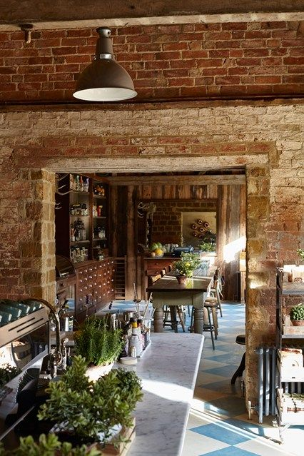 Soho Farmhouse - a countrified version of London's Soho House in the Cotswolds