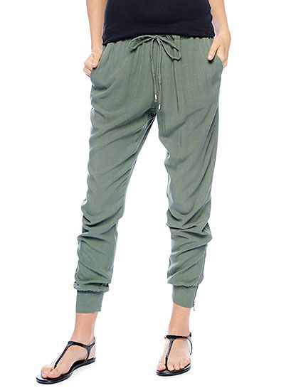 Splendid Official Store, Athletic Woven Pant, camo green, Womens : Bottoms : Pants, SB9A37658