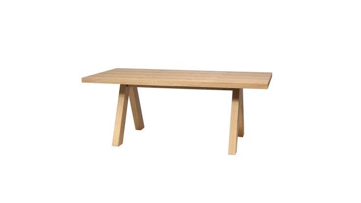 APEX FIX stół dębowy TEMAHOME