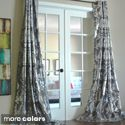 Amirah Intricate Damask Metallic Curtain Panel | Overstock.com Shopping - The Best Deals on Curtains
