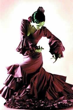 Костюм для танец фламенко