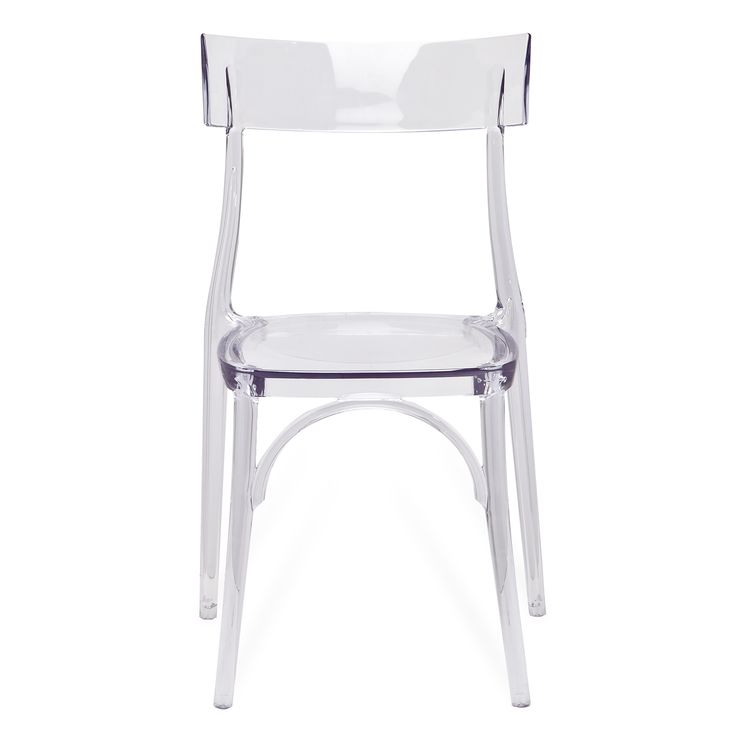 Chair In Clear (Set Of Two)