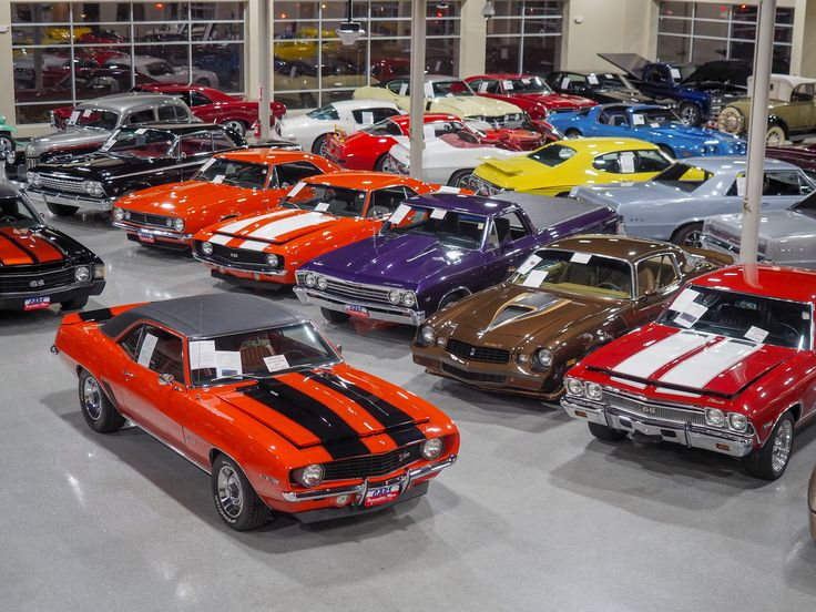 Classic Car Showroom with a little bit of everything