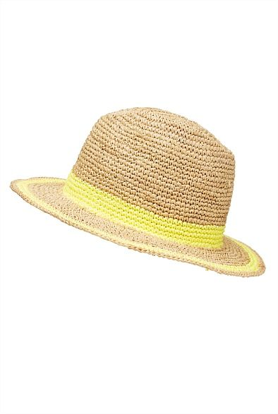 Love this!! Two Tone Trilby