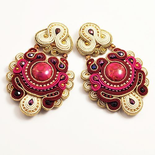 soutache earrings ♡
