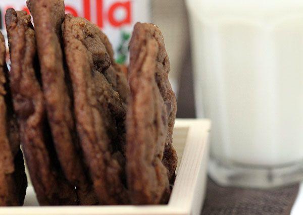 Nutella Chocolate Chip Cookies ©Heather Irwin