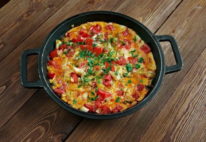 Menemen – omletă turcească cu legume