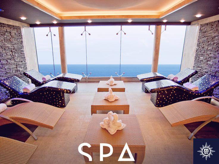 Al naar een authentieke Balinese Spa geweest? In de MSC Yacht Club heb je onbeperkt toegang tot de prachtige sauna en Turks bad. #MSCPreziosa