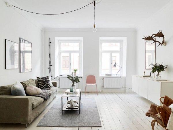 25+ beste ideeën over Scandinavische woonkamers op Pinterest ...