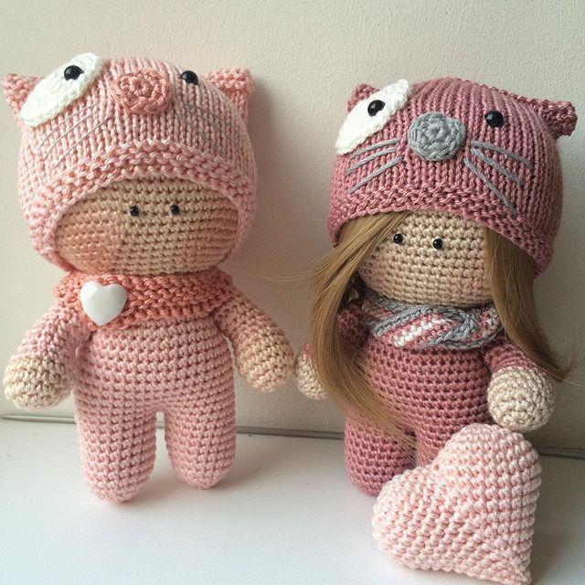 Beautiful dolls. Crochet inspiration !! ~ k8~