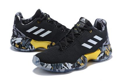 """ba2233f06b9 adidas Pro Bounce Low 2018 """"Kyle Lowry PE"""" Black White-Gold Shoes in 2019"""