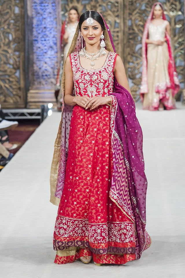 Bridal Zaheer Abbas 2014 PFW Collection