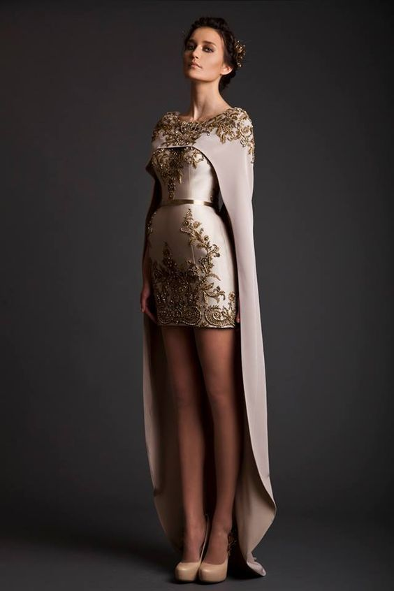 Evening Dresses | Krikor Jabotian Akhtamar Collection | Some of these are cool, some are funky