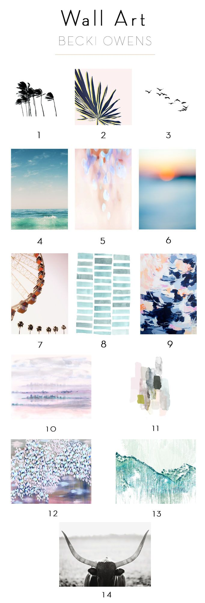 Wall Art with Minted - Becki Owens