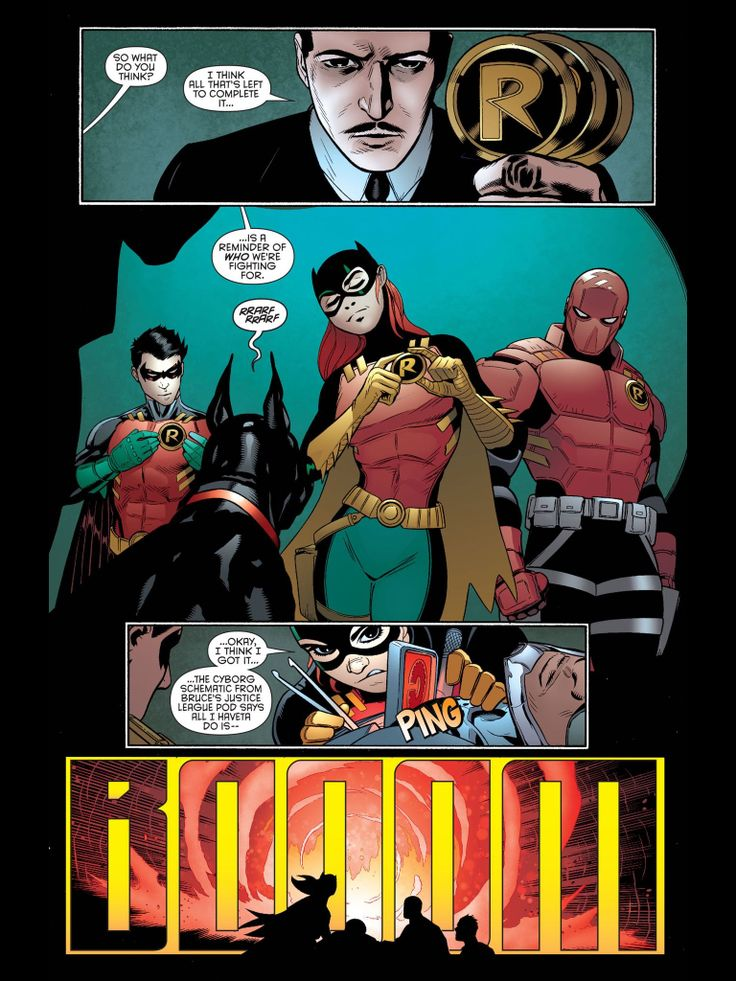 Red hood robin suit