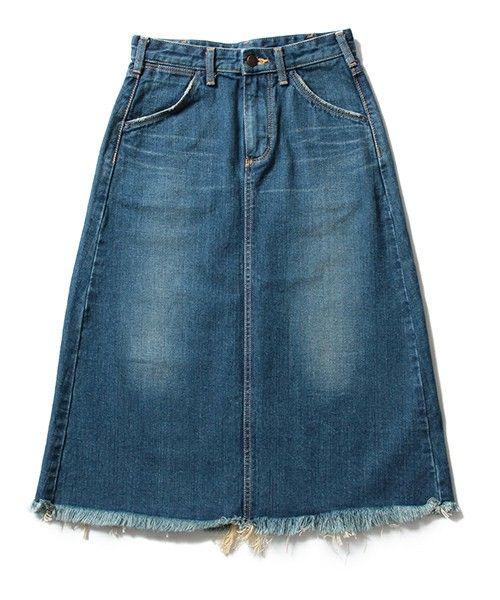 【ZOZOTOWN|送料無料】BEAMS LIGHTS Women's(ビームスライツ ウィメンズ)のデニムスカート「【一部予約】WRANGLER / 40th別注  裾フリンジ デニムスカート」(52-27-0359-141)を購入できます。