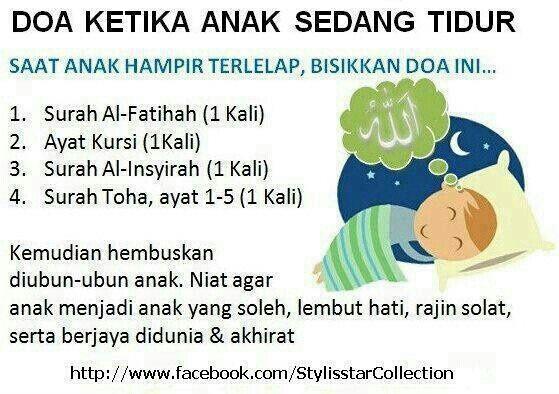 Doa ktika anak tidur