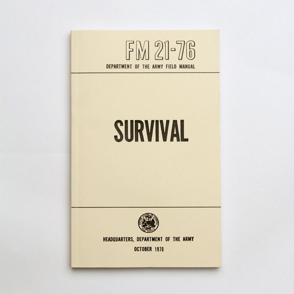 Best Made Company — US Army Field Manuals (set of three)